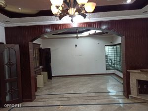 Portion Is Available For Rent At Good Location